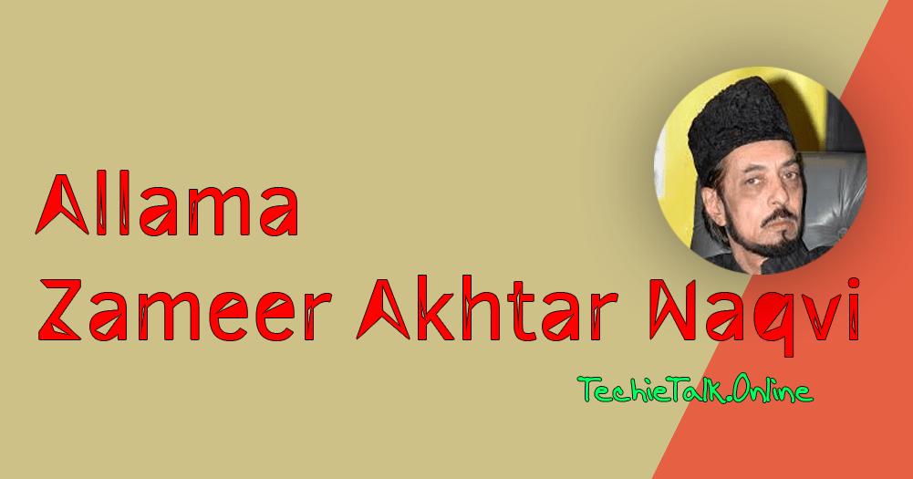 Allama Zameer Akhtar Naqvi Threatens Legal Action Against Those Making Fun of Him [Video]