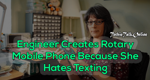 Engineer Creates Rotary Mobile Phone Because She Hates Texting