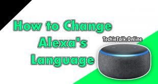 How to Change Alexa's Language