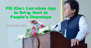 PM Khan Launches App to Bring Govt to People's Doorsteps