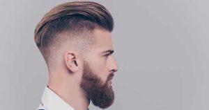 man haircut at home