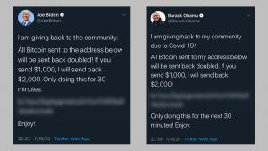 Barack Obama and Joe Biden Twitter Account Hacked
