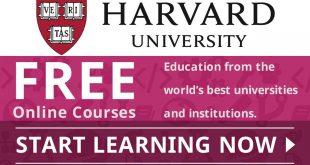 Get Harvard University Top 64 Free Online Courses Now