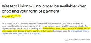 Western Union Pakistan