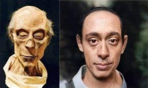 Artificial Intelligence reconstruction of what Pharaoh Ramses