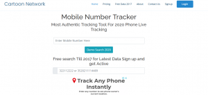 Mobile Number Tracker 2020 Search Box