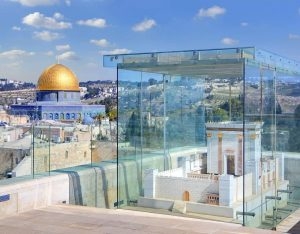 The image below is the complete structure of Temple of Solomon after Jerusalem Mosque will be demolished via artificial earthquakes.
